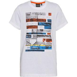ICEPEAK Leary Jr T-Shirt Kinder optic white