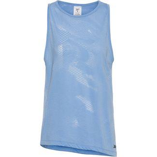 Reebok Burnout Tanktop Damen fluid blue