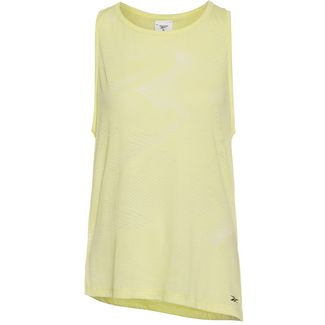 Reebok Burnout Tanktop Damen lemon glow