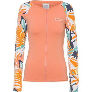 Roxy Surf Shirt Damen peach blush bright skies s