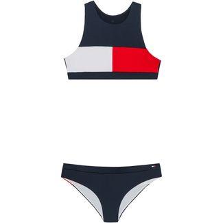 Tommy Hilfiger Bikini Set Kinder pitch blue