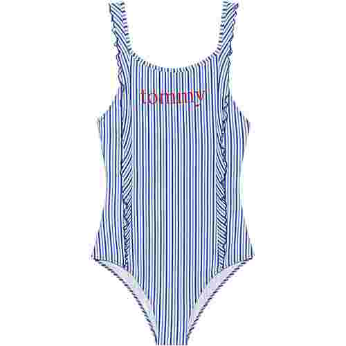 Tommy Hilfiger Badeanzug Kinder seersucker blue