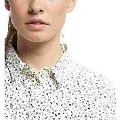 Haglöfs Idun SS Shirt Outdoorhemd Damen Soft white flower