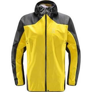 Haglöfs GORE-TEX® L.I.M Comp Jacket Hardshelljacke Herren Signal yellow/magnetite