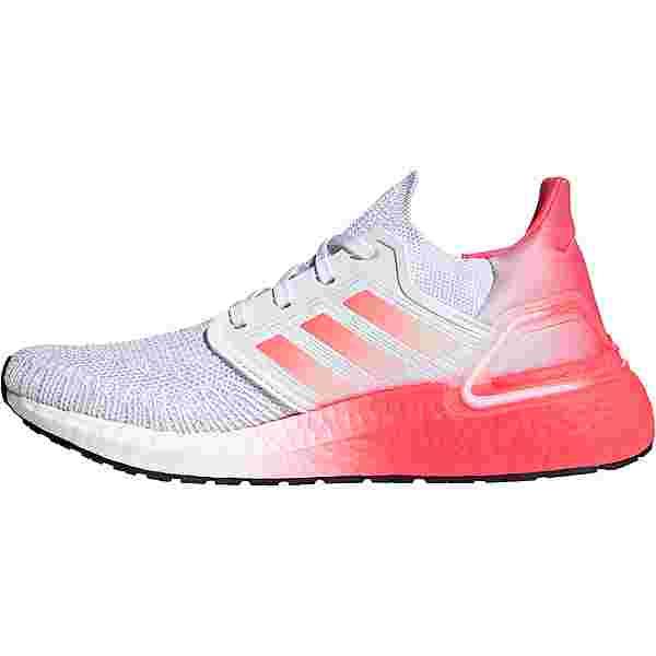 adidas ULTRABOOST 20 W Laufschuhe Damen ftwr white-signal pink