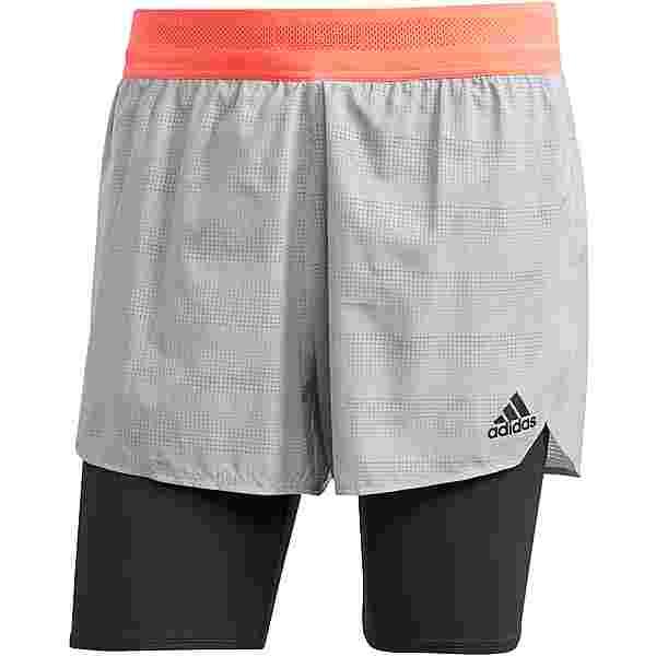 adidas HEAT-RDY Laufshorts Herren glory grey