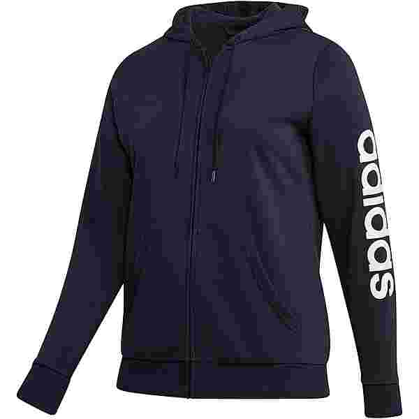 adidas Plus Size Sweatjacke Damen legend ink