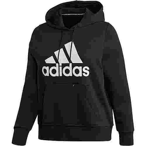 adidas Plus Size Hoodie Damen black