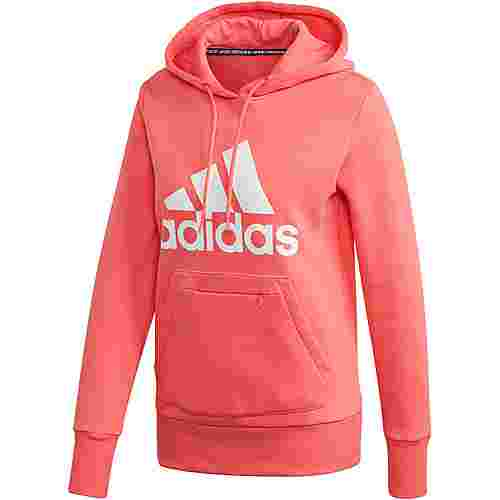 adidas Batch of Sport Hoodie Damen semi flash red
