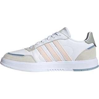 adidas Courtmaster Sneaker Damen ftwr white-pink tint-orbit grey
