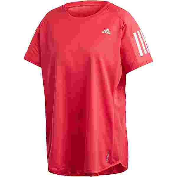adidas Plus Size Funktionsshirt Damen power pink