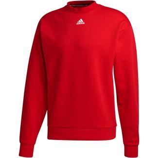 adidas Sweatshirt Herren scarlet
