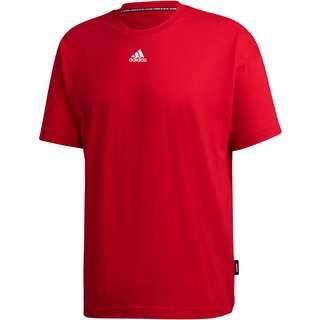 adidas T-Shirt Herren scarlet