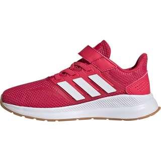 adidas Runfalcon C Laufschuhe Kinder power pink