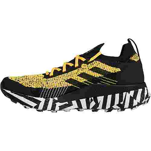 adidas Two Ultra Parley Trailrunning Schuhe Herren solar gold-core black-ftwr white