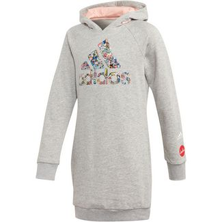 adidas G ART L HD Langarmkleid Kinder medium grey heather