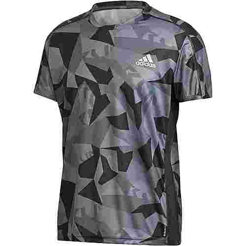 adidas Own The Run Funktionsshirt Herren grefou-grefiv-gresix