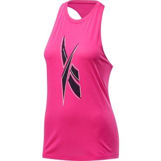 Reebok Funktionstank Damen proud pink