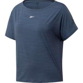 Reebok Yoga Funktionsshirt Damen smoky indigo
