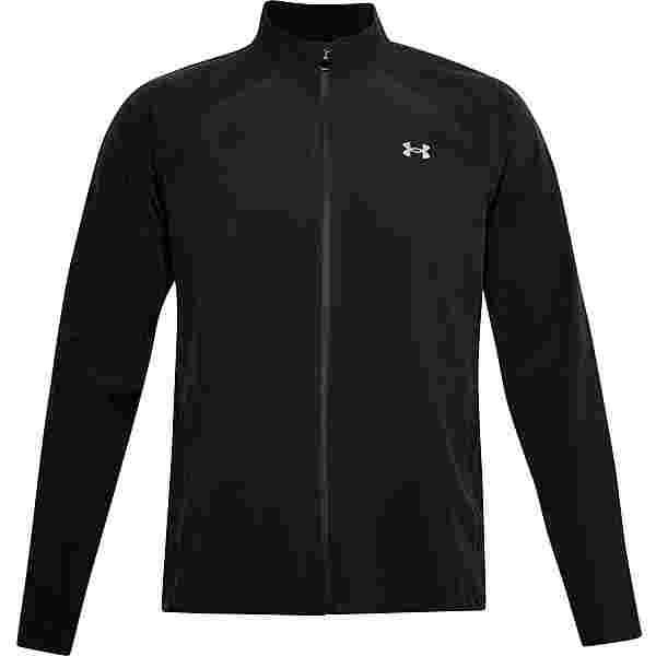 Under Armour Launch Laufjacke Herren black-black-reflective