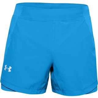Under Armour Qualifier Laufshorts Herren electric blue-electric blue-reflective