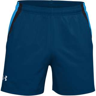 Under Armour Launch Laufshorts Herren graphite blue-black-reflective