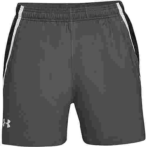 Under Armour Launch Laufshorts Herren pitch gray-mod gray-reflective