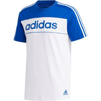 adidas T-Shirt Herren team royal blue-white