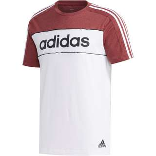 adidas T-Shirt Herren lagacy red mel-white