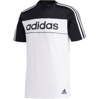 adidas T-Shirt Herren black-white