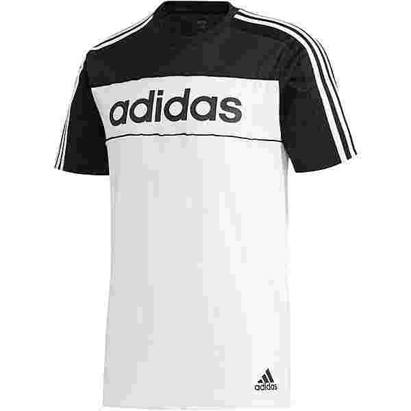 adidas T-Shirt Herren black-white