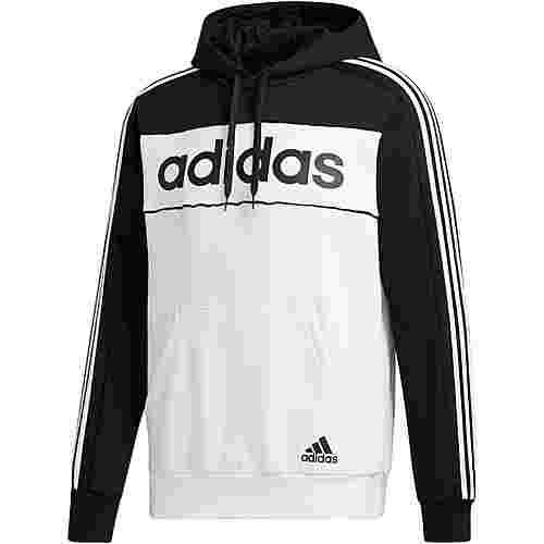 adidas Hoodie Herren black-white