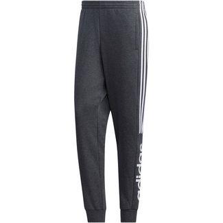 adidas Sweathose Herren dark grey heather-white