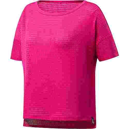 Reebok Yoga Funktionsshirt Damen proud pink