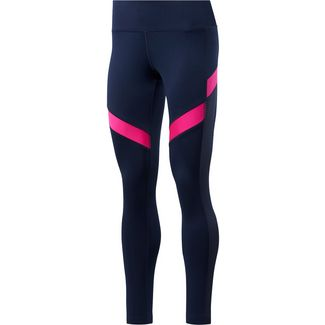 Reebok Yoga Tights Damen vector navy