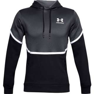 Under Armour Rival Hoodie Herren black-white