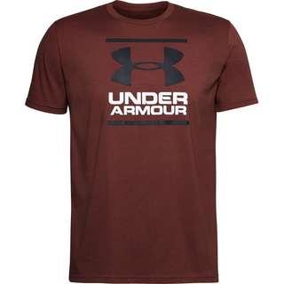 Under Armour Foundation T-Shirt Herren cinna red-black