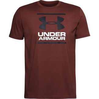 Under Armour Foundation T-Shirt Herren cinna red-black