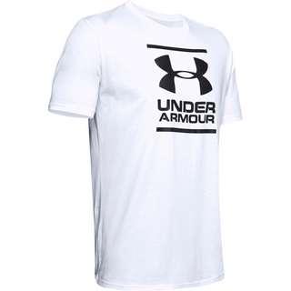 Under Armour Foundation T-Shirt Herren white-black