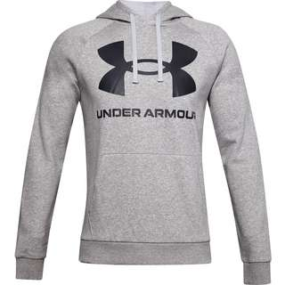 Under Armour Rival Hoodie Herren mod gray light heather-black