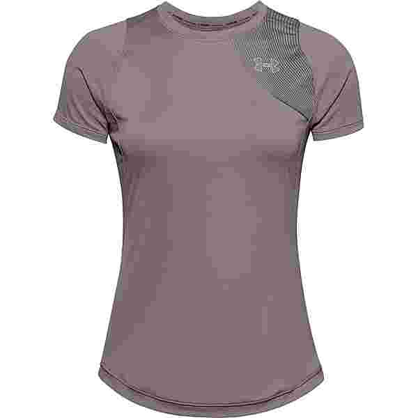 Under Armour Qualifier Funktionsshirt Damen purple