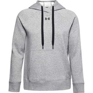 Under Armour Rival Hoodie Damen gray