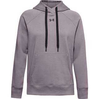 Under Armour Rival Hoodie Damen purple