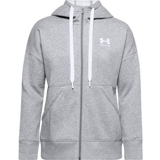 Under Armour Rival Sweatjacke Damen gray