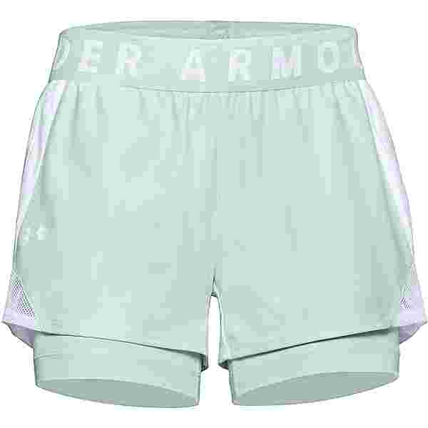 Under Armour Play Up Funktionsshorts Damen blue