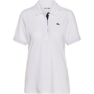 Lacoste CHEMISE COL BORD-COTES MA Tennis Polo Damen blanc-marine