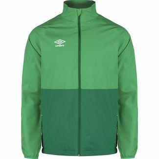 UMBRO Shower Trainingsjacke Herren grün / dunkelgrün