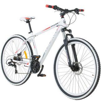 "Galano Toxic 29"" Mountainbike Fahrrad MTB Hardtail weiß/rot"