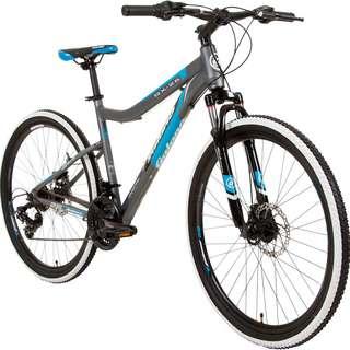 "Galano GX-26 Mountainbike 26"" Fahrrad MTB Hardtail grau/blau"