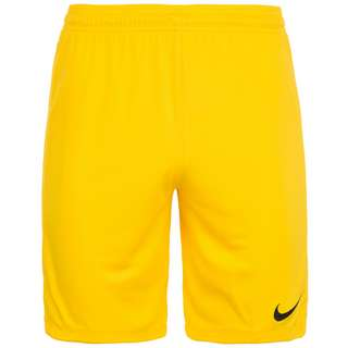 Nike League Fußballshorts Herren gelb / schwarz